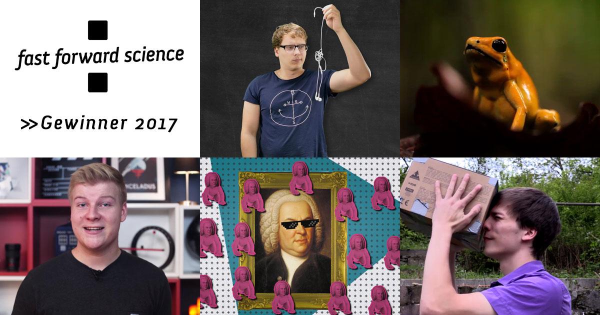 Fast Forward Science 2017: Das sind die Gewinner!
