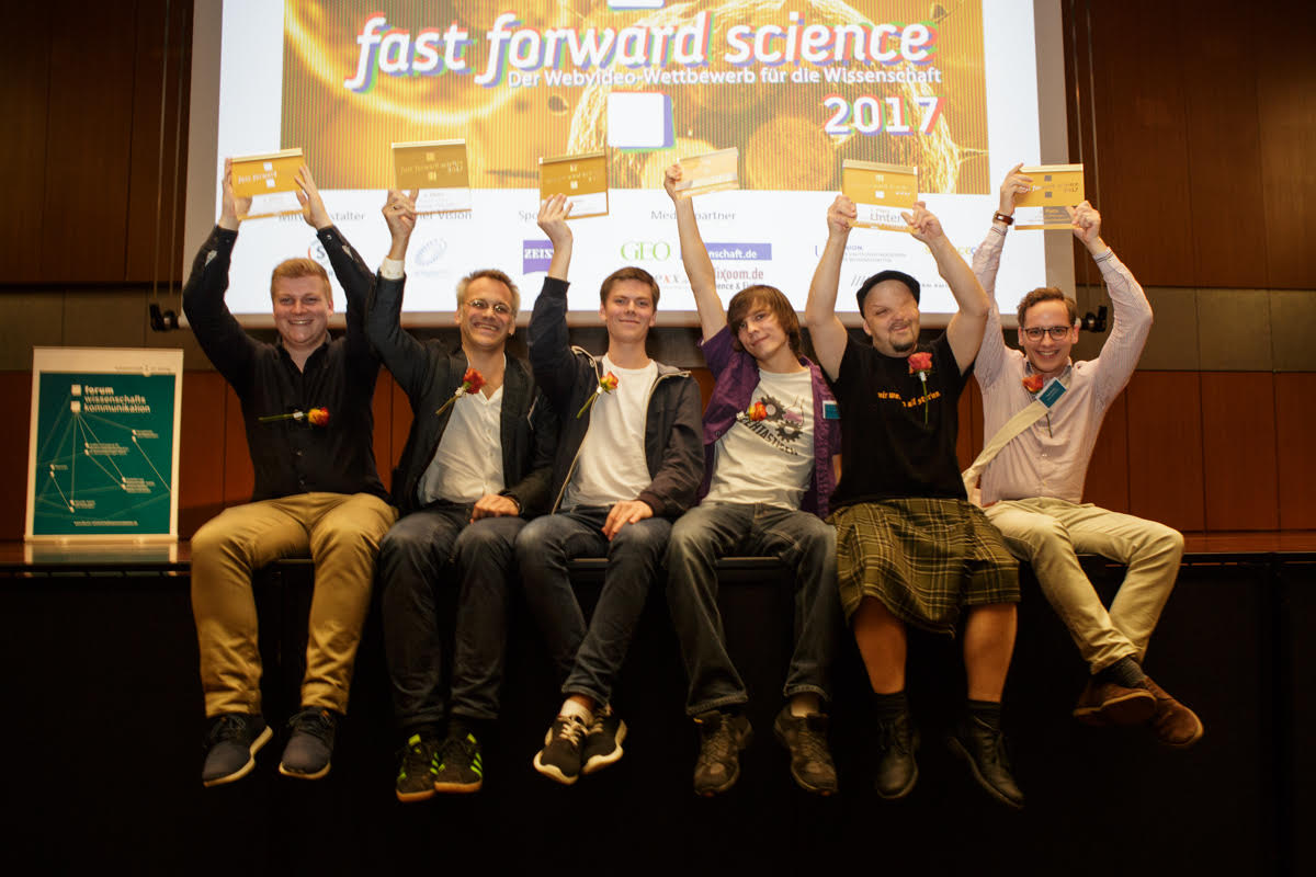 Rückblick: Fast Forward Science Preisverleihung 2017