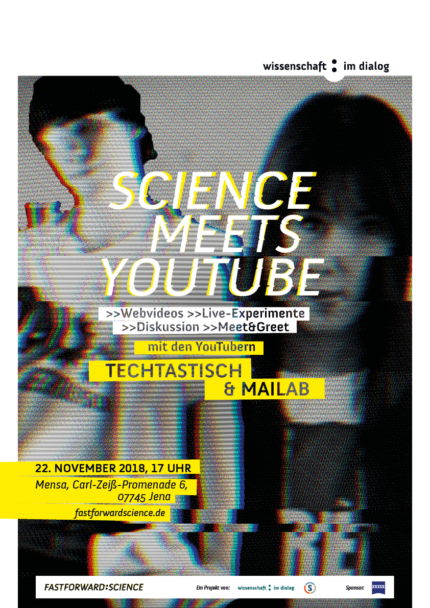 Save the date: Am 22.11. Science meets YouTube in Jena