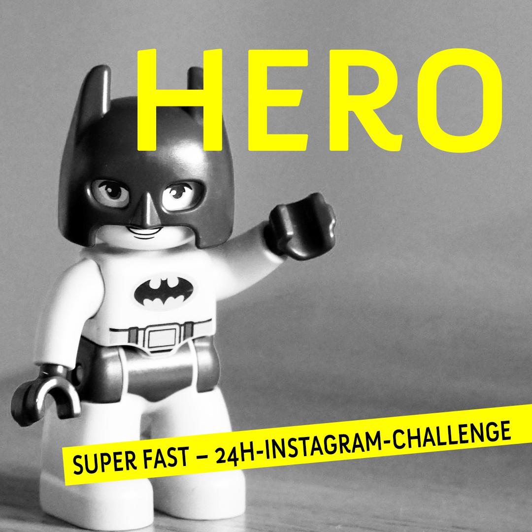 Start  der Super Fast – 24h-Instagram-Challenge