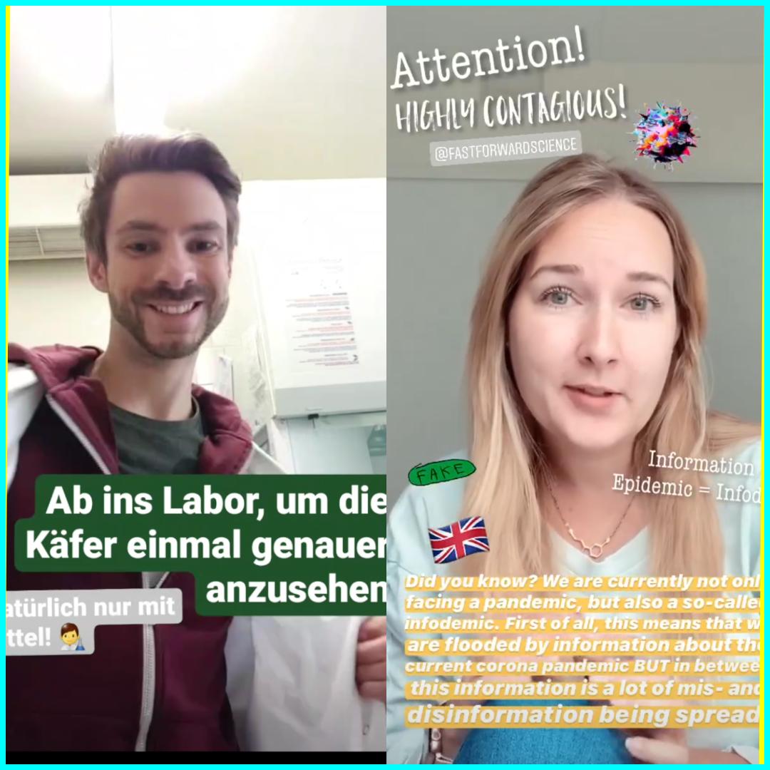 ANSTECKEND – Gewinner der Super Fast – 24h-Instagram-Challenge 2020