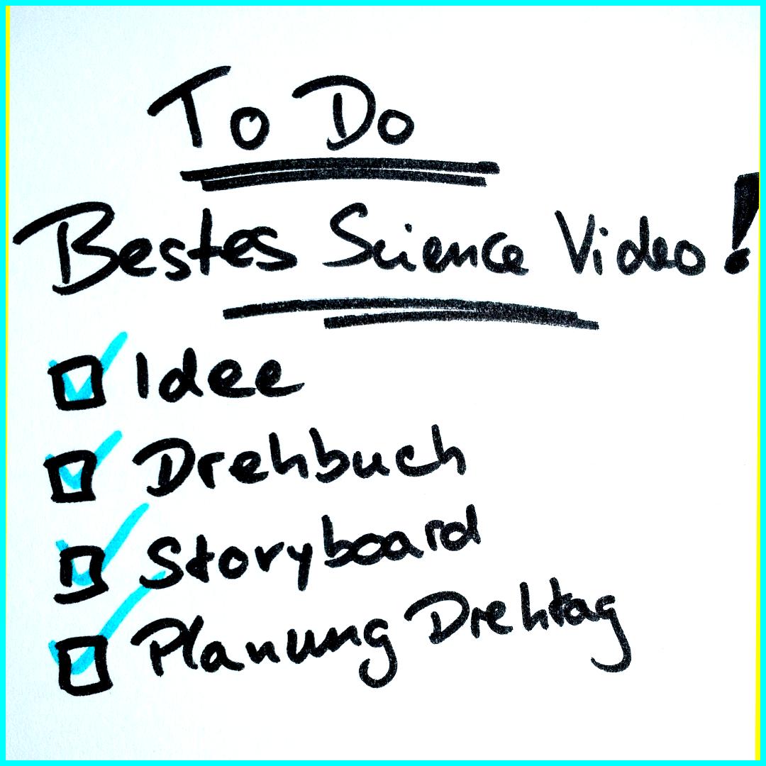 #HowToWebvideo Teil 5: Die Planung des Drehs